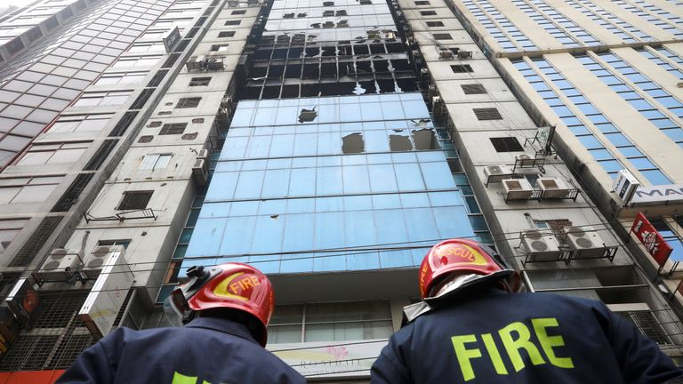 Bangladesh building owners arrested after 26 die in fire