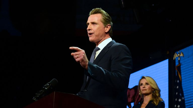 Gavin Newsom signed the order and said the death penalty was a failure
