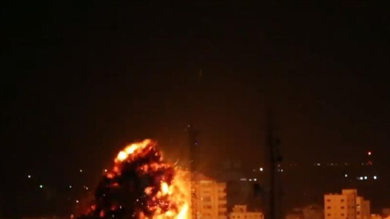 At least seven people were injured when Israel carried out airstrikes on Gaza on March 25, a spokesperson for the health ministry in Gaza said.
