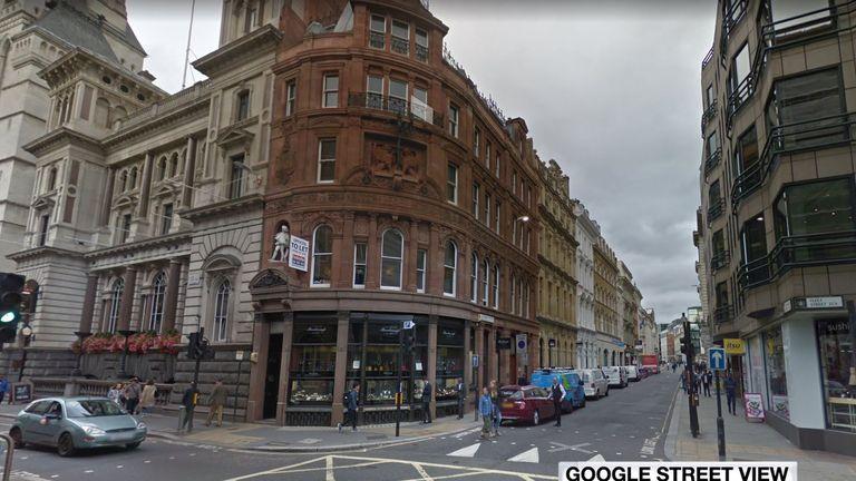 George Attenborough and Son Jewellers on Fleet Street