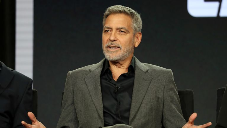 George Clooney has called for a boycott of nine Brunei-owned hotels