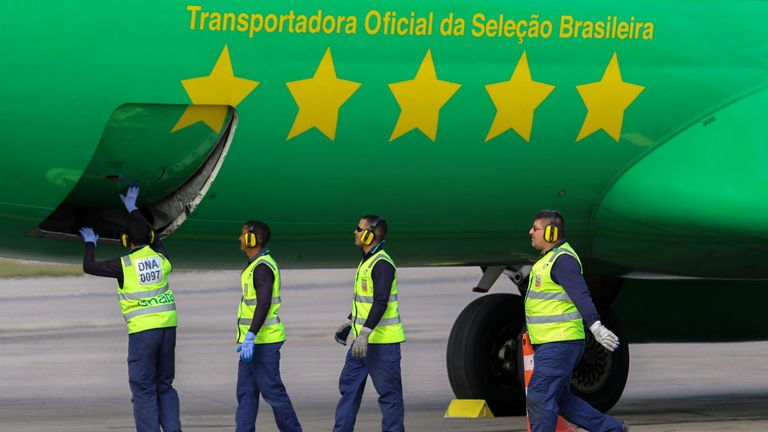 Brazilian carrier Gol Airways have grounded eight Boeing 737 MAX 8 planes (not pictured)