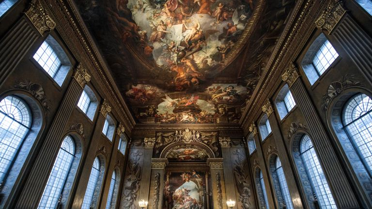 Britain's 'Sistine Chapel' reopens after £8.5m restoration