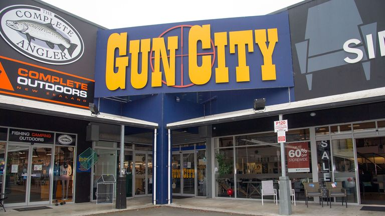 The owner of Gun City says his store sold weapons to the alleged gunman