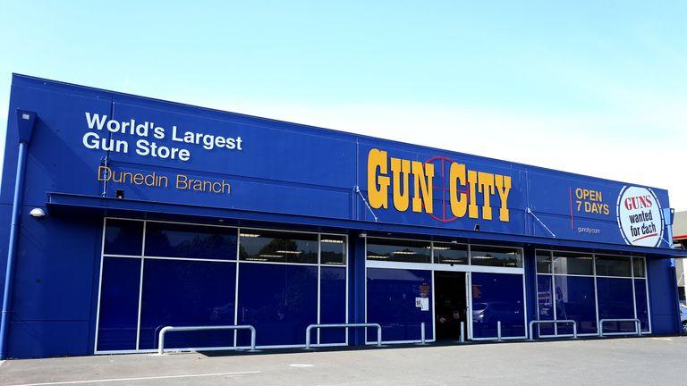 A Gun City store