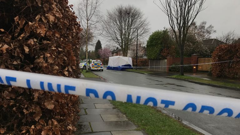 A 17-year-old boy was stabbed to death in Hale Barns