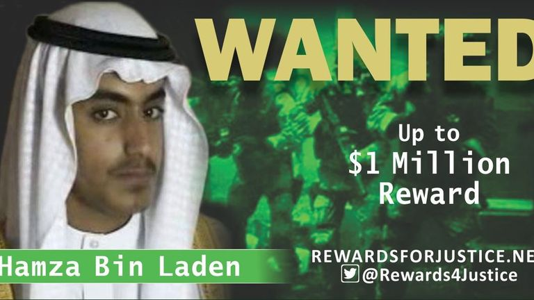 Hamza bin Laden is said to have threatened attacks against the US and its allies