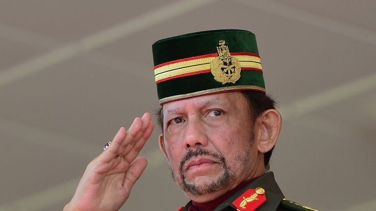 Brunei to punish gay sex with death by stoning under sharia