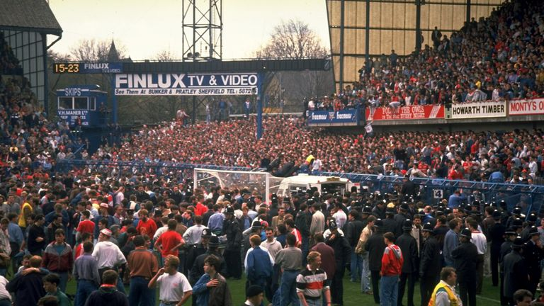 The disaster happened at an FA Cup semi-final in 1989 between Liverpool and Nottingham Forest