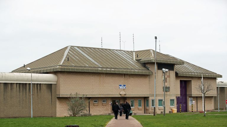 HMP Moorland in Doncaster from where disgraced former footballer Adam Johnson is thought to have left