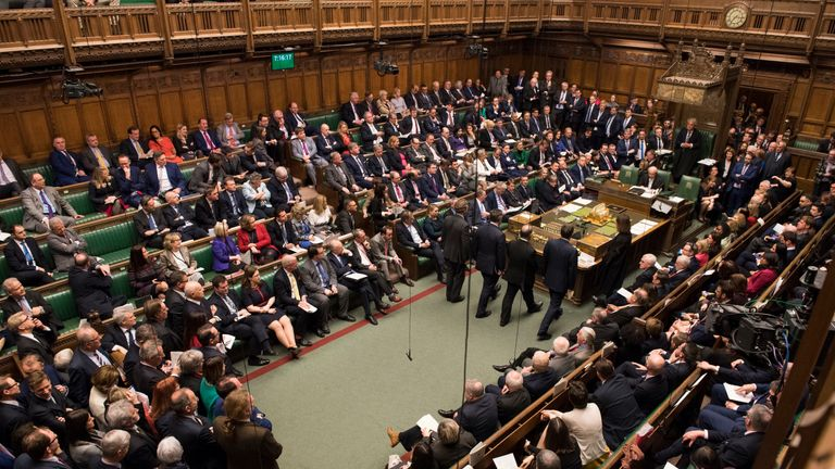 House of Commons Pic: UK Parliament/Mark Duffy