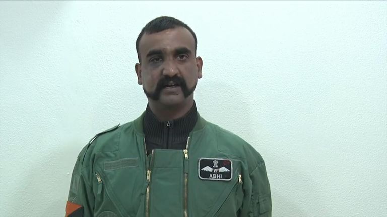 Indian wing commander Abhinandan Varthaman has been returned after being shot down and seized in Pakistan.