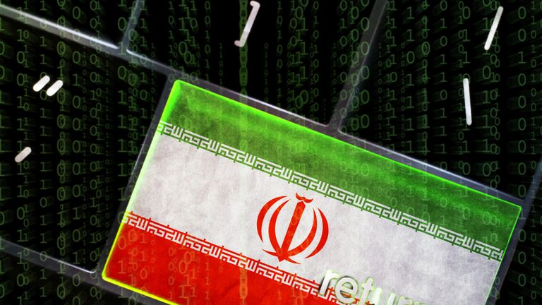 Sky News has learnt that Iran have been blamed for cyber attacks on UK infrastructure