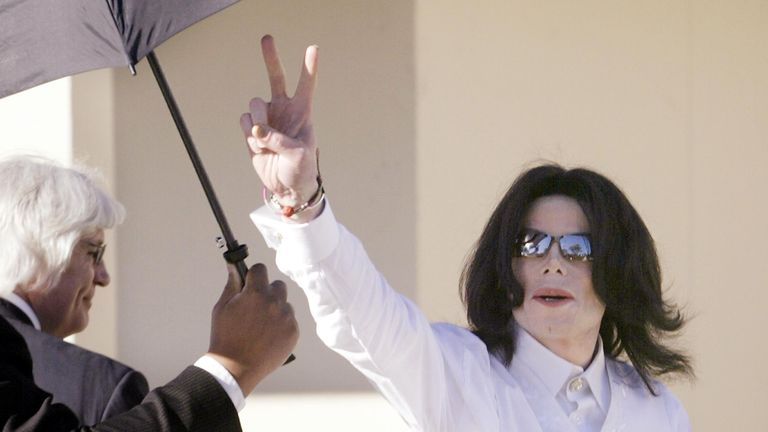 Jackson was in court in 2005 accused of sexual abuse.