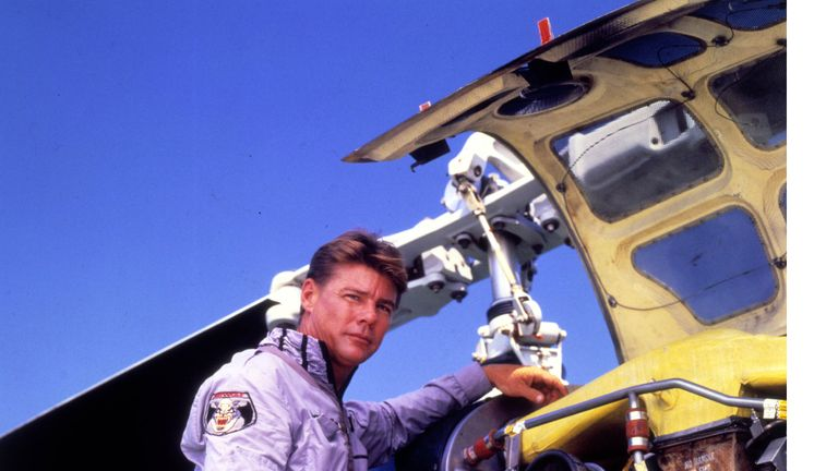 Vincent's role on Airwolf saw him become one of TV's highest-paid stars