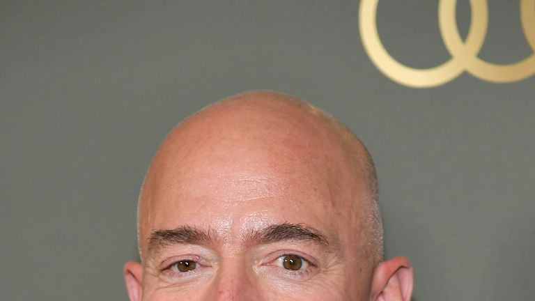 Amazon's chief executive officer Jeff Bezos is the richest man in the world