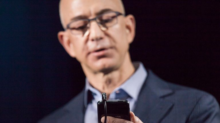 Amazon founder Jeff Bezos claims Saudi Arabia have gained access to his personal phone