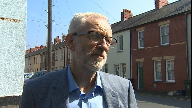 "Labour Leader Jeremy Corbyn has accused the government of ""running down the clock"" and ""bullying"" MPs to get Theresa May's deal through parliament."