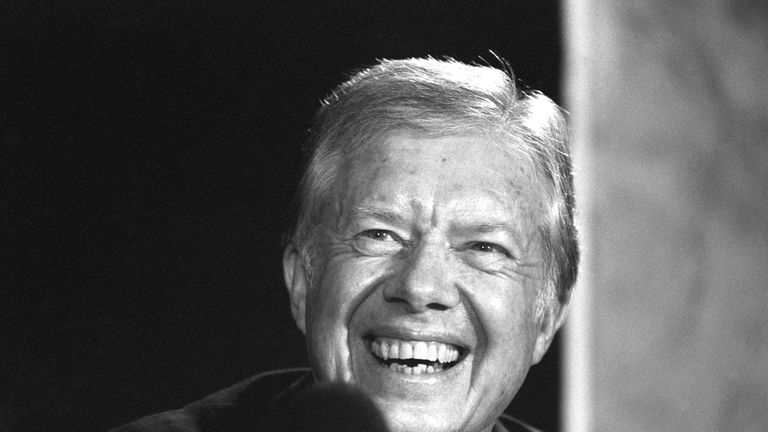 Jimmy Carter was US president between 1977 and 1981