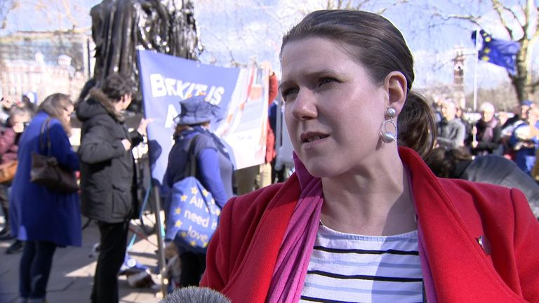 Lib Dem MP Jo Swinson