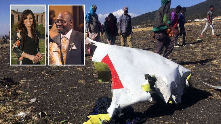 Joanna Toole and Joseph Waithaka are the first British victims of the Ethiopian Airlines plane crash to be named.