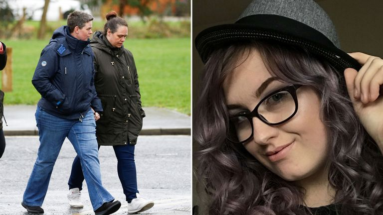 Jodie's family visited the park where she was stabbed to death