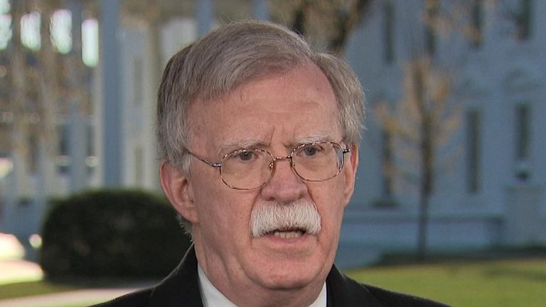 John Bolton says the US stands ready to do trade deals with the UK as soon as it is out of the EU