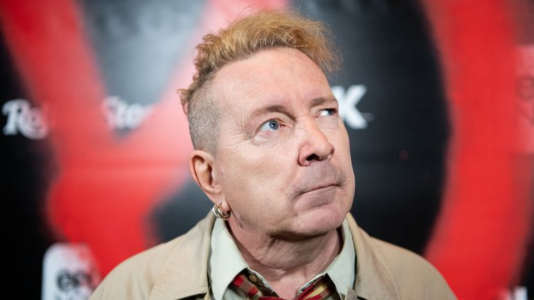 John Lydon aka Johnny Rotten arrives at the premiere of Epix's 'Punk' at SIR on March 04, 2019 in Los Angeles, California. (Photo by Emma McIntyre/Getty Images)