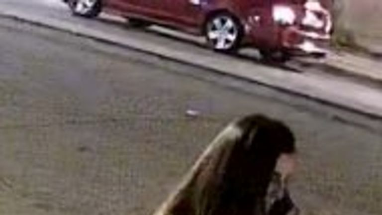 Ms Josephson pictured on her phone shortly before her disappearance, Pic: Columbia Police Dept