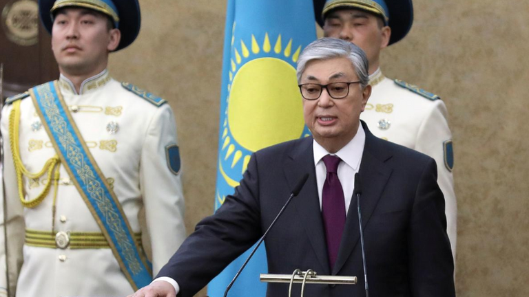 Kassym-Jomart Tokayev took office after the long time leader stood down