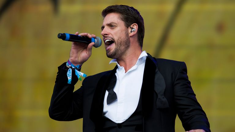 Keith Duffy was admitted to hospital in Bangkok before the group's gig in the Thai capital