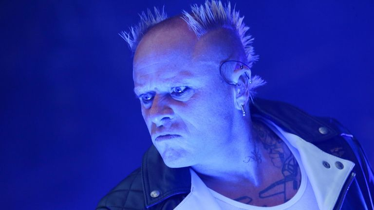 Keith Flint in 2014