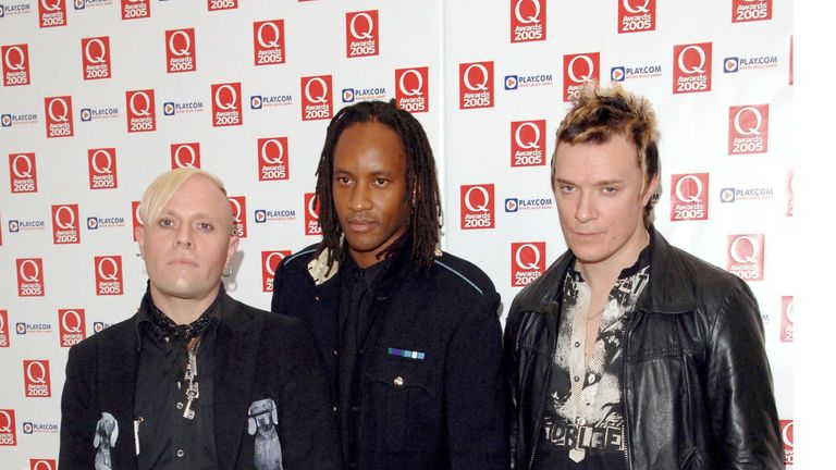 Keith Flint, Maxim and Liam Howlett in 2005