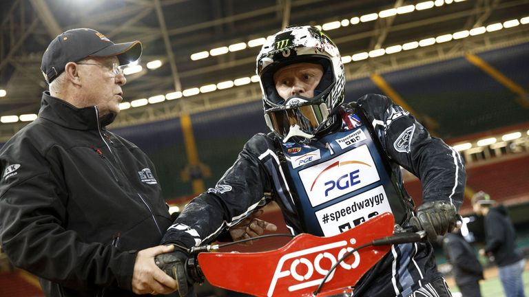 Keith Flint, Speedway session at the Millennium Stadium, Cardiff 2013