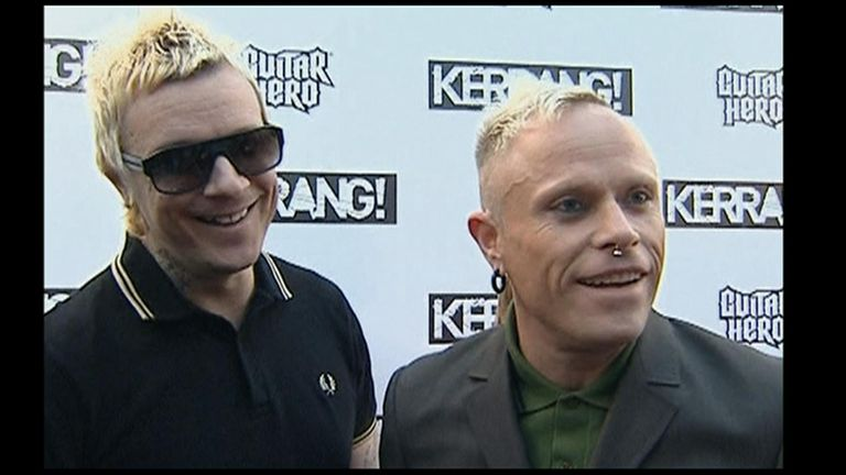 The Prodigy won best single for 'Omen' at the 2009 Kerrang! Awards.