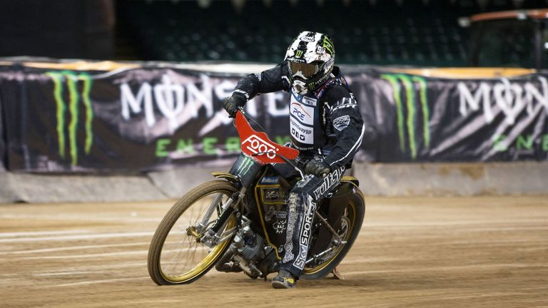 Keith Flint, Speedway session at the Millennium Stadium, Cardiff, 2013