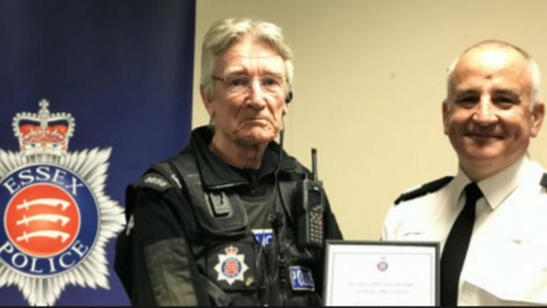 Special constable Keith Smith, 74. Pic: Essex Police