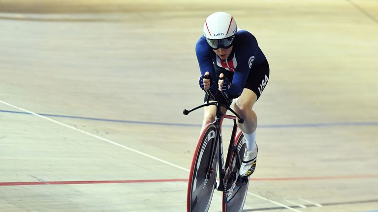 The cyclist described trying to juggle her sporting career with her university work