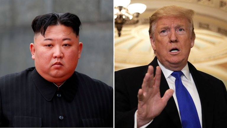 Kim and Trump composite for next summit