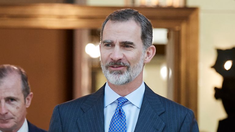 King Felipe VI of Spain has apparently received a letter from the Mexican president