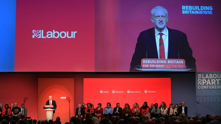 The Labour Party's annual conference at the Arena and Convention Centre (ACC), in Liverpool