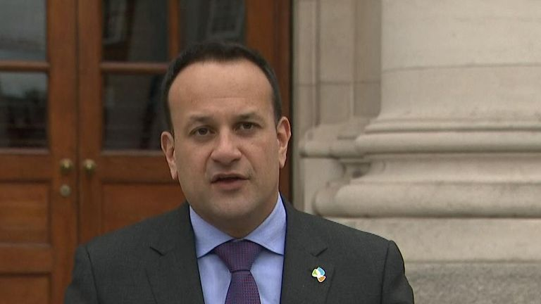 Leo Varadkar favours allowing the UK government more time to reach a Brexit deal, but not any suggestion of changing the terms around the backstop