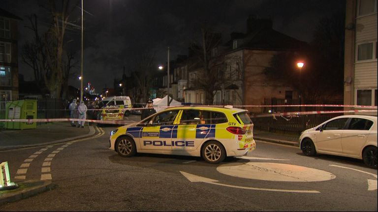 A man was stabbed in North Birkbeck Road in Leyton, east London