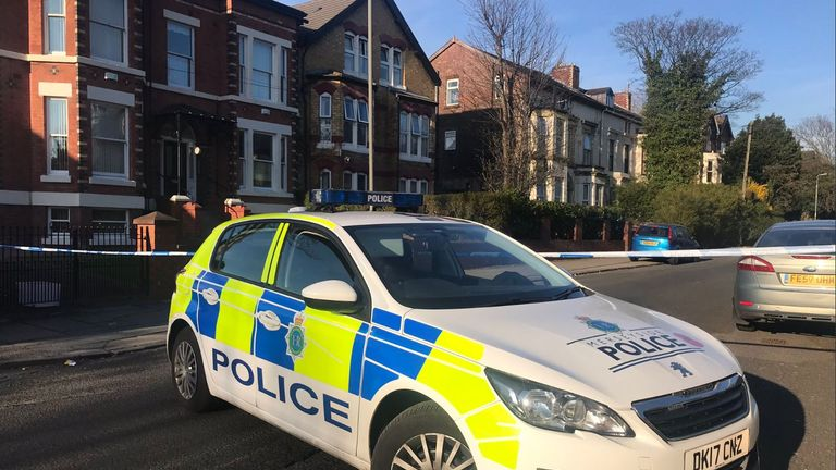The stabbing happened in Bentley Road, Toxteth. Pic: Radio City News