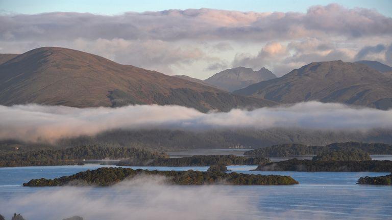 Even Loch Lomond