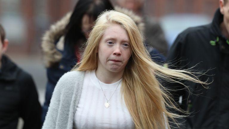 Georgina Lochrane called her daughter's killer 'inhuman'