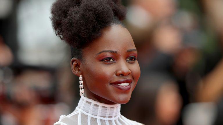 Lupita N'yongo at Cannes