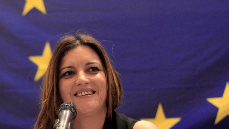 Marisa Matias, EU Chief Observer for the general elections in Honduras 2017