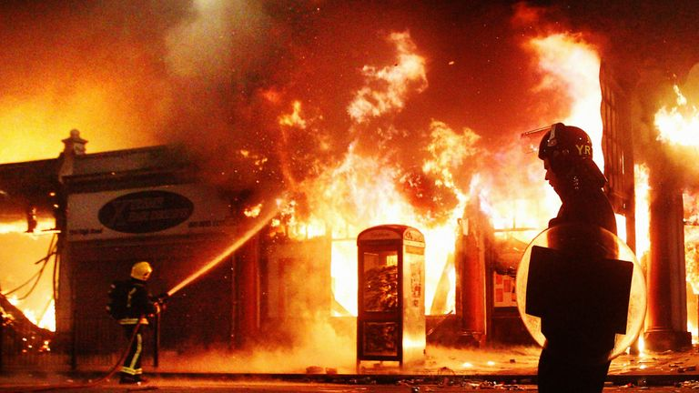 Mark Duggan's shooting sparked riots in London in 2011