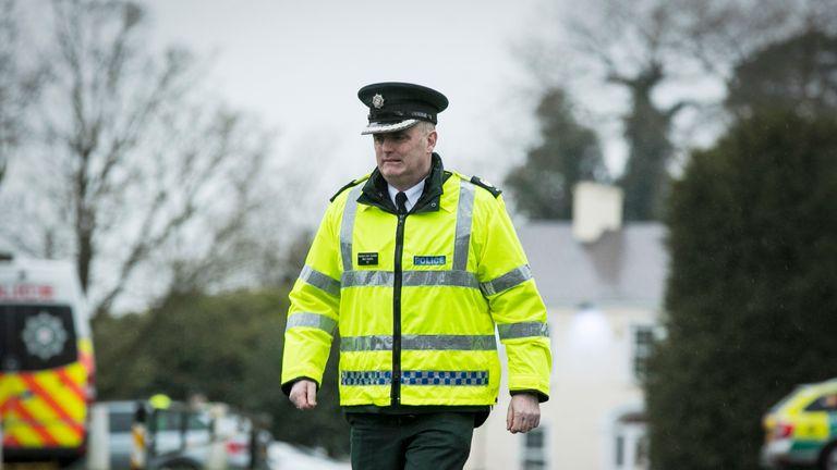 Assistant Chief Constable Mark Hamilton of the PSNI